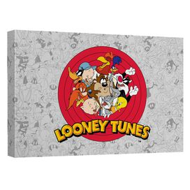 Looney Tunes Group Burst Quickpro Artwrap Back Board