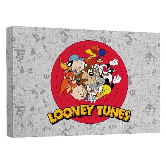 Looney Tunes Group Burst Quickpro Artwrap Back Board