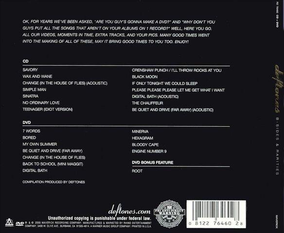 B Sides & Rarities Cd/Dvd