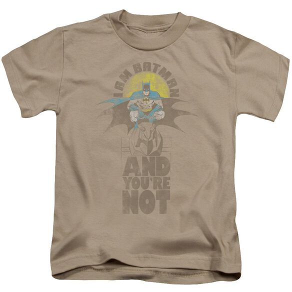 Dc And You're Not Short Sleeve Juvenile Sand T-Shirt