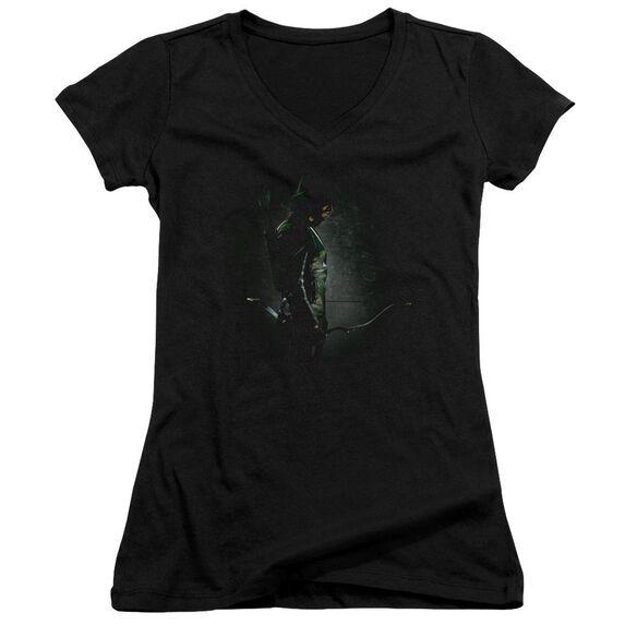 Arrow In The Shadows Junior V Neck T-Shirt
