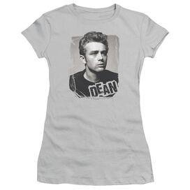Dean Broken Border Short Sleeve Junior Sheer T-Shirt