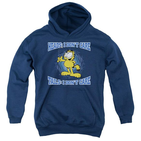 Garfield Heads Or Tails Youth Pull Over Hoodie