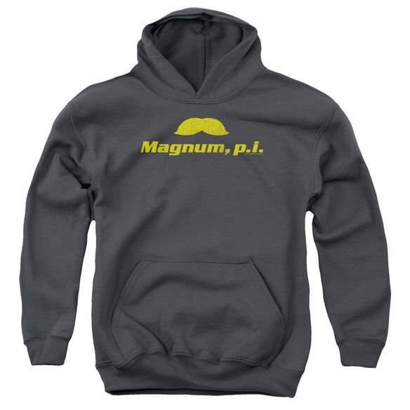Magnum Pi The Stache Youth Pull Over Hoodie