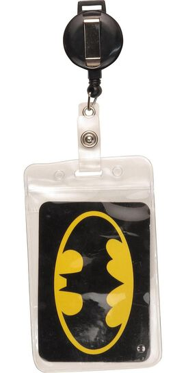 Batman Logo Badge Retractable Lanyard