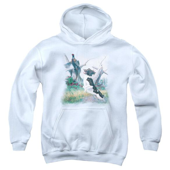Wildlife Springer With Pheasant Youth Pull Over Hoodie