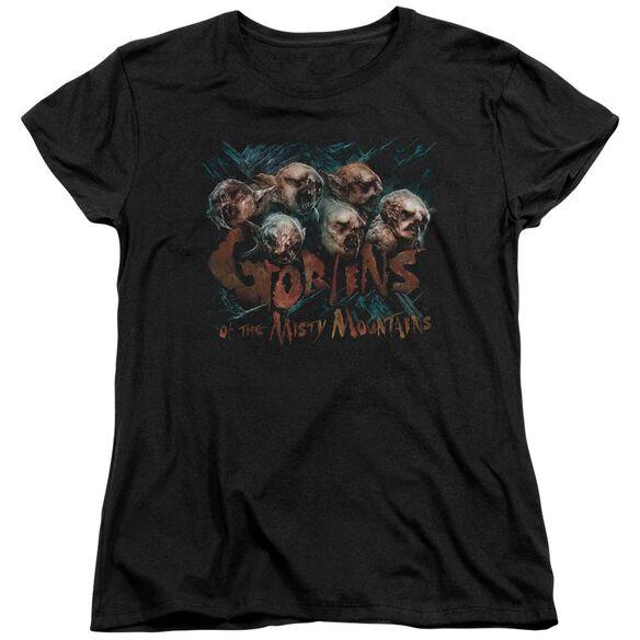 The Hobbit Misty Goblins Short Sleeve Womens Tee T-Shirt