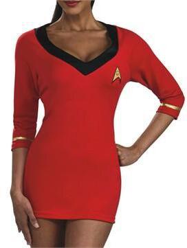 Star Trek Uhura V Neck Costume Dress