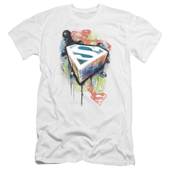 Superman Urban Shields Premuim Canvas Adult Slim Fit