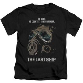 Last Ship Mask Short Sleeve Juvenile Black T-Shirt