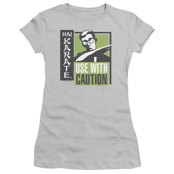Hai Karate Karate Chop Short Sleeve Junior Sheer T-Shirt