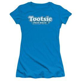 Tootsie Roll Tootsie Fruit Rolls Logo Short Sleeve Junior Sheer T-Shirt