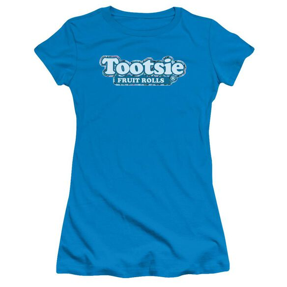 Tootsie Roll Tootsie Fruit Rolls Logo Short Sleeve Junior Sheer T-Shirt