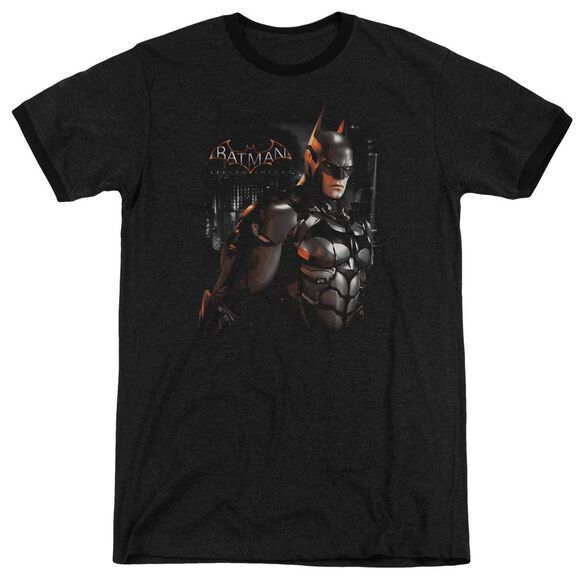 Batman Arkham Knight Dark Knight Adult Heather Ringer