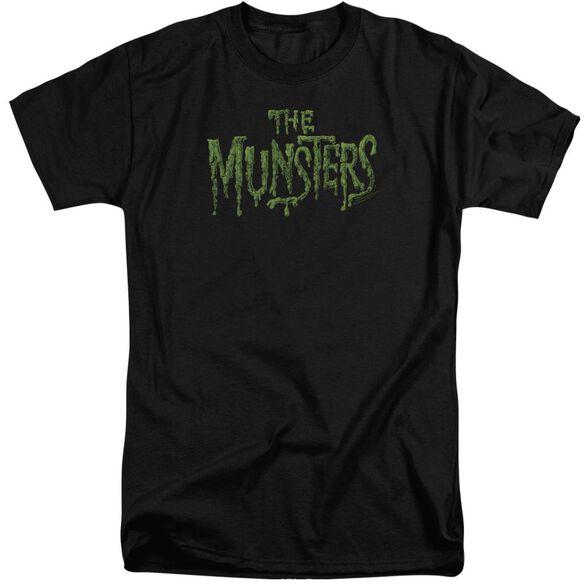 The Munsters Distress Logo Short Sleeve Adult Tall T-Shirt