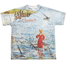 Genesis Foxtrot Cover Short Sleeve Youth Poly Crew T-Shirt