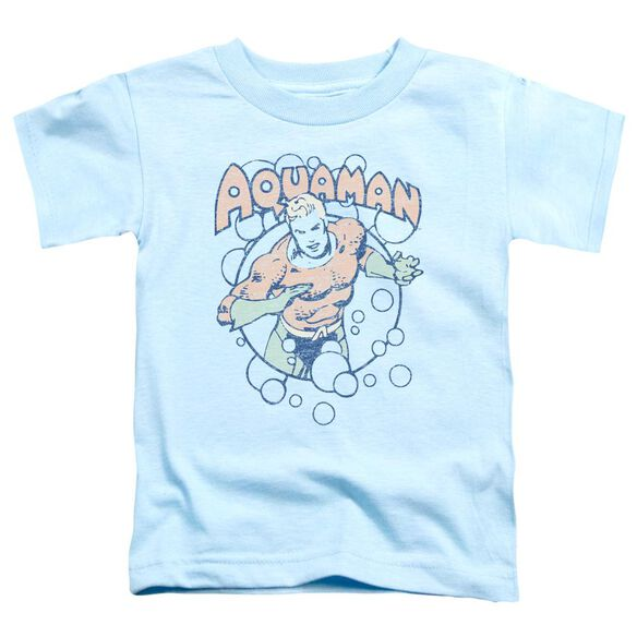 Dc Bubbles Short Sleeve Toddler Tee Light Blue T-Shirt