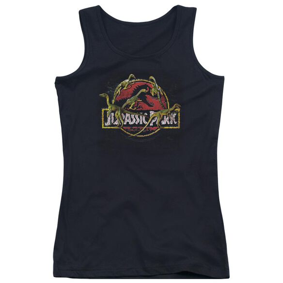 Jurassic Park Something Has Survived Juniors Tank Top