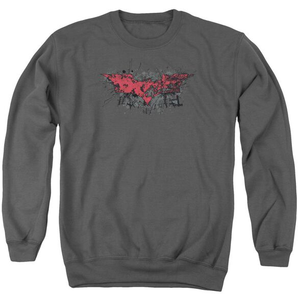 Dark Knight Rises Fear Logo Adult Crewneck Sweatshirt