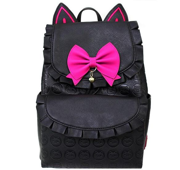 Loungefly - Overwatch Luna D.VA Black Cat Mini Backpack