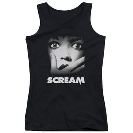 Scream Poster Juniors Tank Top