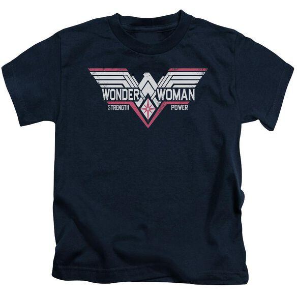 Batman V Superman Thunder Logo Short Sleeve Juvenile T-Shirt