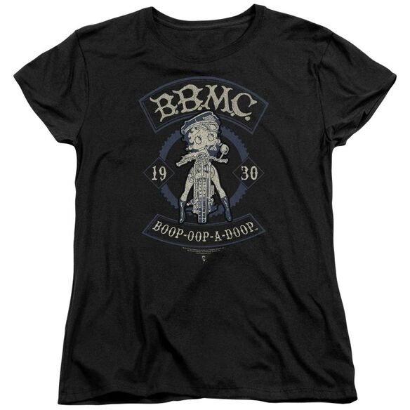 Betty Boop B.B.M.C. Short Sleeve Womens Tee T-Shirt