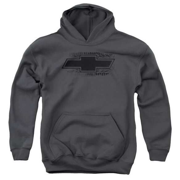 Chevrolet Bowtie Burnout Youth Pull Over Hoodie