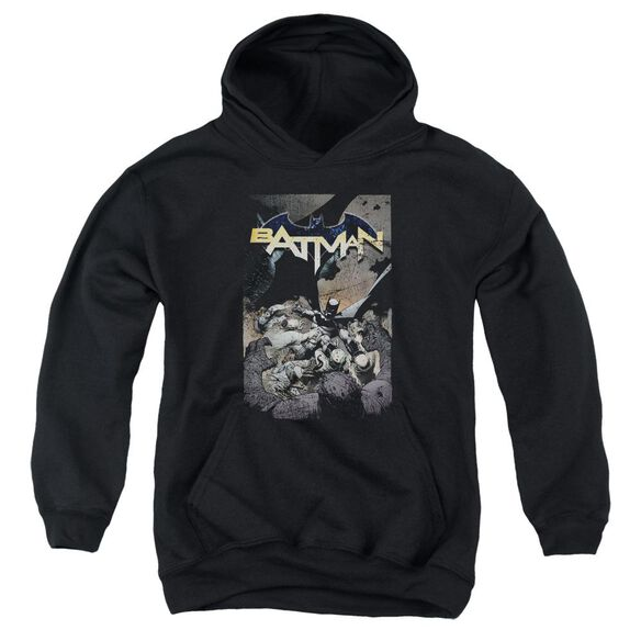 Batman Batman One Youth Pull Over Hoodie