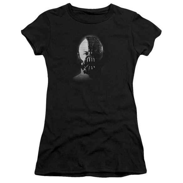 Dark Knight Rises Bane Short Sleeve Junior Sheer T-Shirt