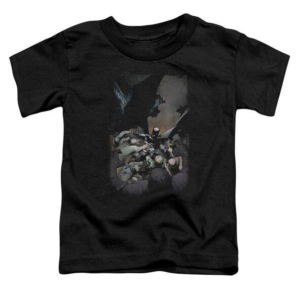Batman Batman #1 Short Sleeve Toddler Tee Black Sm T-Shirt