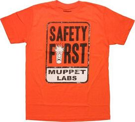 Muppets Labs Safety First T-Shirt Sheer