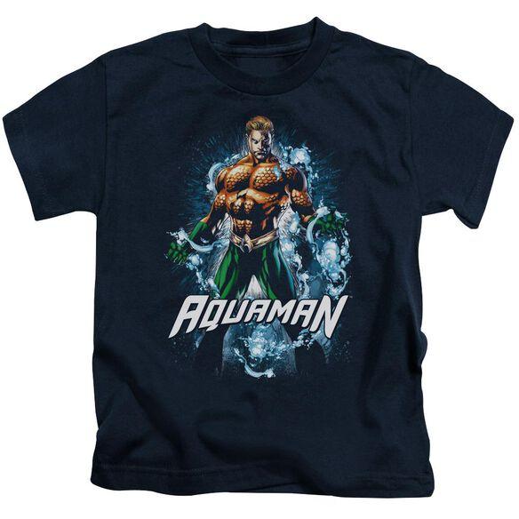 Jla Water Powers Short Sleeve Juvenile T-Shirt