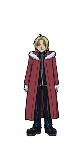 Full Metal Alchemist - Edward [fur on coat] FiGPiN
