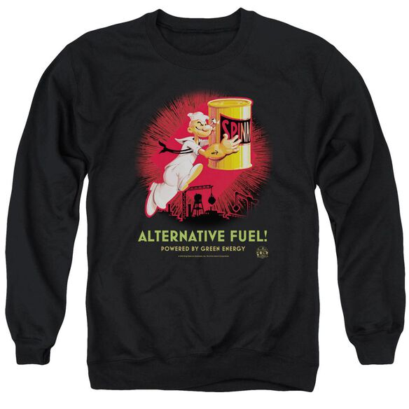 Popeye Alternative Fuel Adult Crewneck Sweatshirt