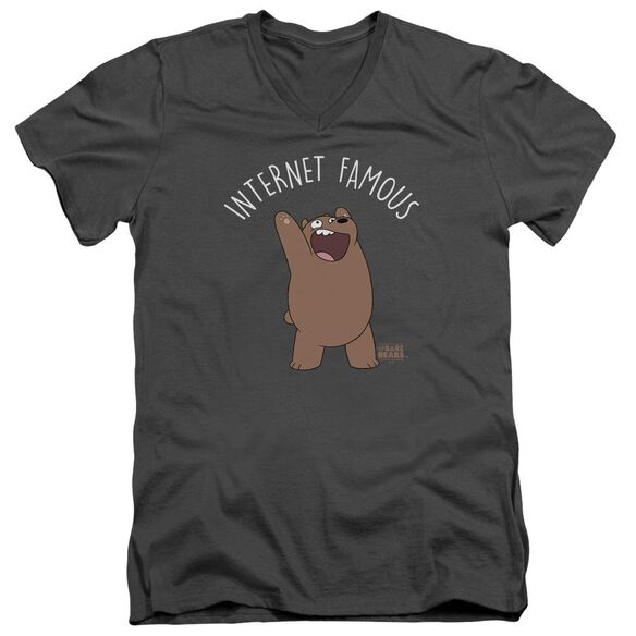 We Bare Bears Internet Famous Short Sleeve Adult V Neck T-Shirt