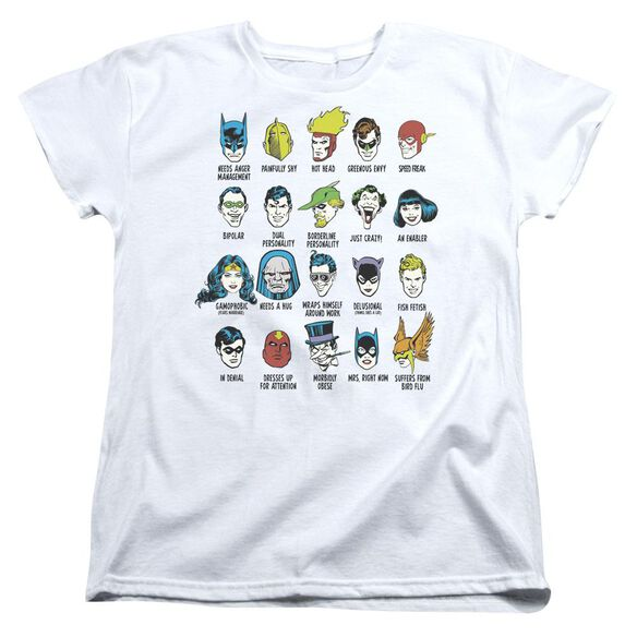 Dc Superhero Issues Short Sleeve Womens Tee T-Shirt