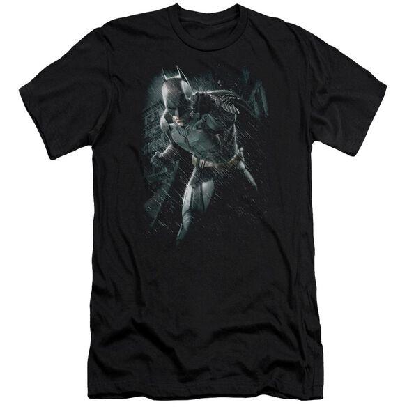 Dark Knight Rises Batman Rain Short Sleeve Adult T-Shirt