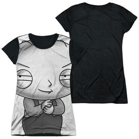 FAMILY GUY STEWIE HEAD-S/S JUNIOR POLY T-Shirt
