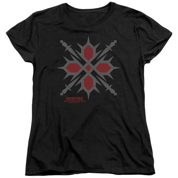 Vampire Knight Hunter Symbol Short Sleeve Womens Tee T-Shirt