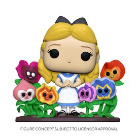 Funko Pop! Deluxe: Alice in Wonderland 70th– Alice in Wonderland w/Flowers