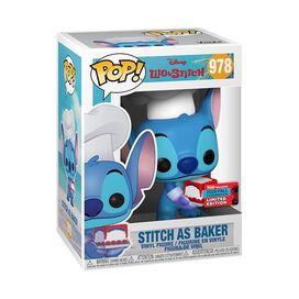 Funko Pop! Disney: Lilo & Stitch - Stitch as Baker [NYCC 2020]