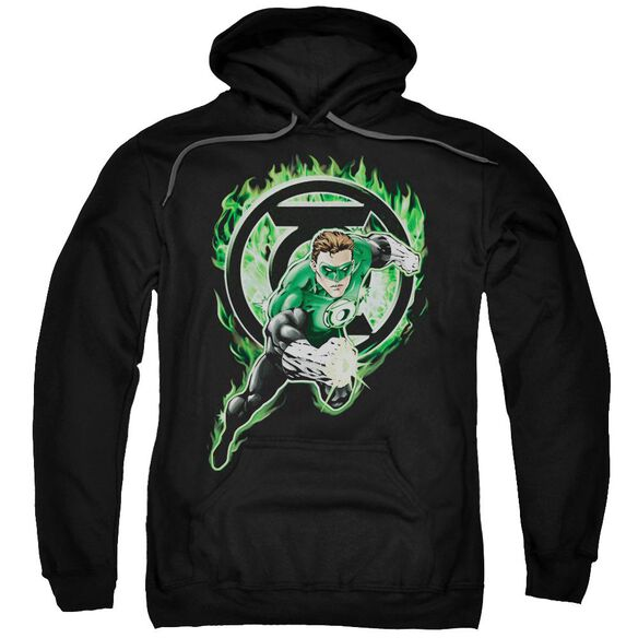 Green Lantern Space Cop Adult Pull Over Hoodie