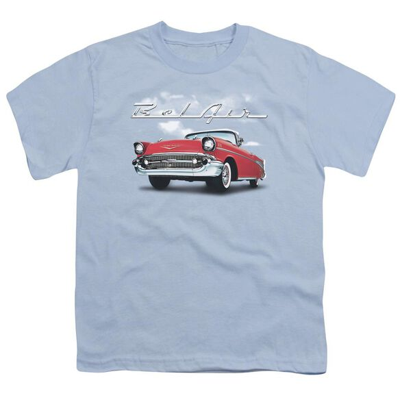 Chevrolet Bel Air Clouds Short Sleeve Youth Light T-Shirt
