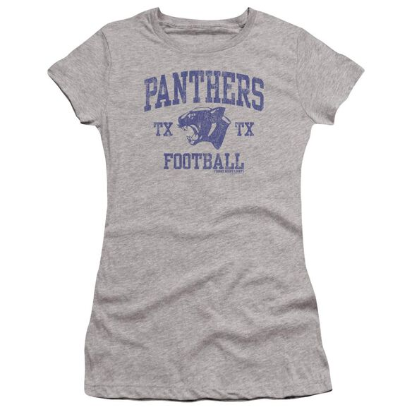 Friday Night Lights Panther Arch Premium Bella Junior Sheer Jersey Athletic