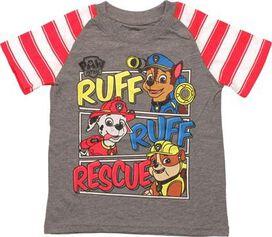 Paw Patrol Ruff Rescue Stripes Toddler T-Shirt