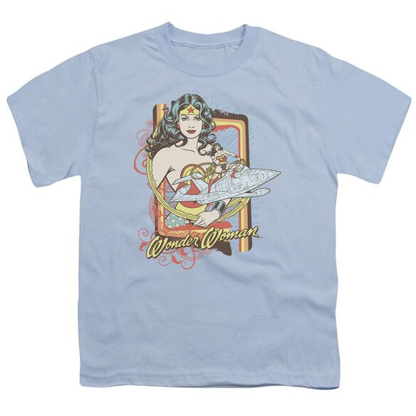 Dc Invisible Jet Short Sleeve Youth Light T-Shirt