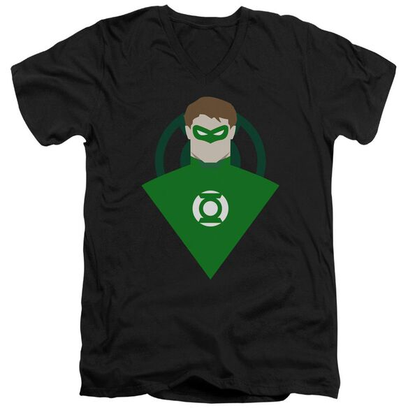 Dc Simple Gl Short Sleeve Adult V Neck T-Shirt