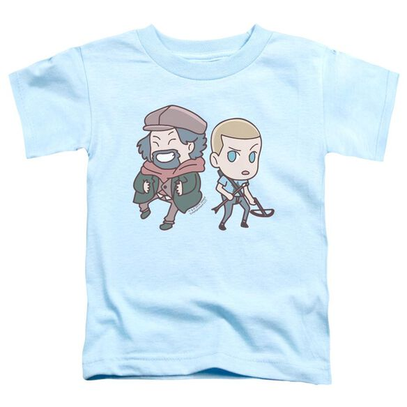Valiant Aa Chibi Short Sleeve Toddler Tee Light Blue T-Shirt