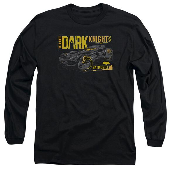 Batman V Superman Mobile Dark Knight Long Sleeve Adult T-Shirt